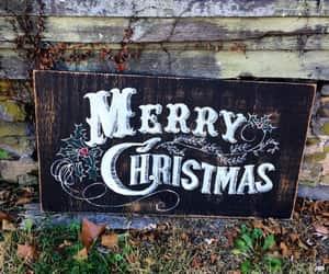 christmas, december, and magic image