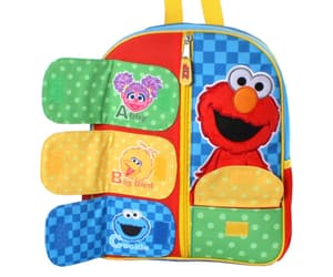 abby, sesame street, and backpack image