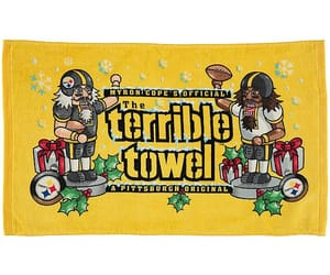 christmas, steelers, and terrible towel image