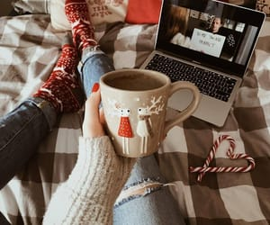 christmas, drinks, and lifestyle image