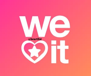 heart, weheartit, and it image