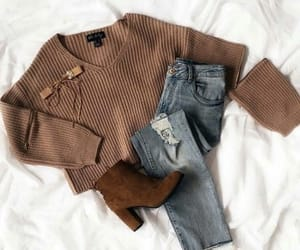 outfit, beautiful, and clothing image