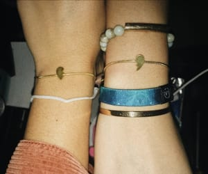 best friends, bff, and bracelet image