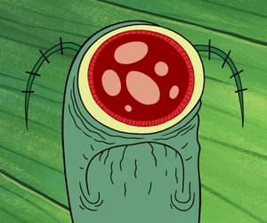 cute, plankton, and spongebob image