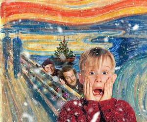 art, christmas, and edward munch image