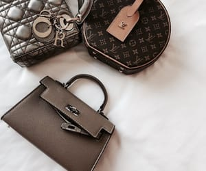 bag, fashion, and handbag image