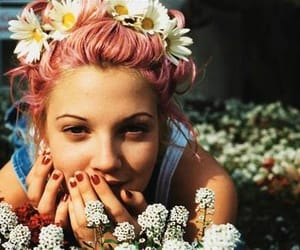 90's, flowers, and grunge flowers image