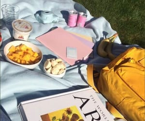 date, monet, and picnic image