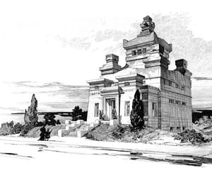 architecture, cemetery, and design image