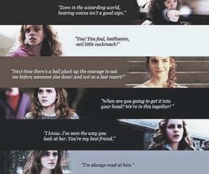 harry potter, hermione granger, and quotes image