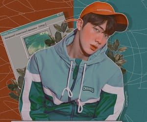 edit, jin, and bts image