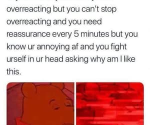 annoying, anxiety, and depression image