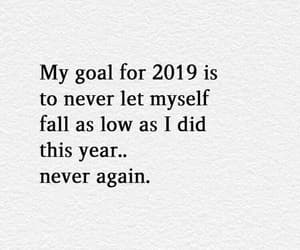 2019, goals, and quotes image
