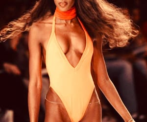 beauty, movement, and Naomi Campbell image