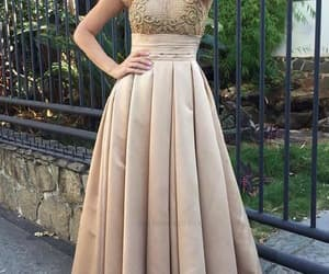 custom prom dresses, high neck prom dresses, and prom dresses long image