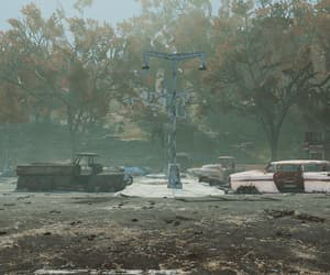 apocalypse, cars, and outdoors image