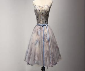 short prom dress and corset homecoming dress image