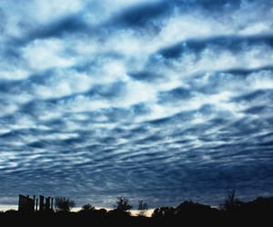 blue, clouds, and photography image