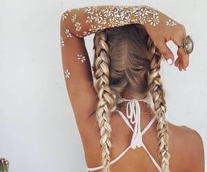 braid, cabelo, and tranças image