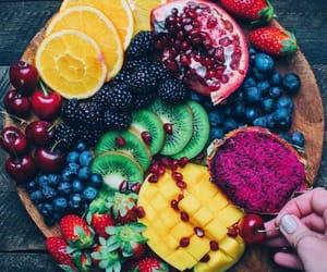 comida, food, and FRUiTS image