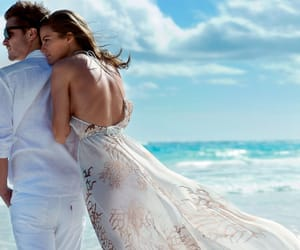 Luke Grimes and Cameron Russell image