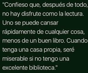 biblioteca, books, and frases image