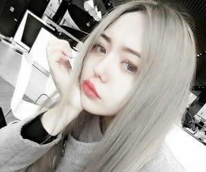 aesthetic, asian girl, and dark girl image