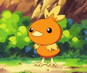 anime, torchic, and game image