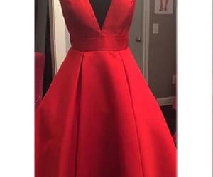homecoming dress, v-neck homecoming dresses, and homecoming dresses v-neck image