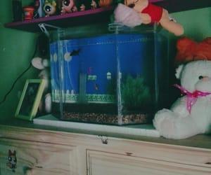 fish, mario bros, and peces image