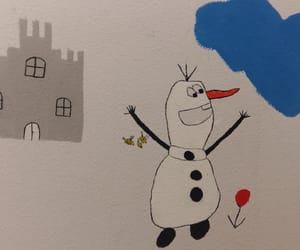 frozen, olaf, and gemalt image