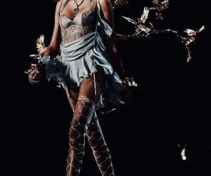 fashion, model, and angel image