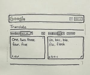 1 2 3, phoebe buffay, and google translate image