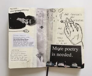 journal, art, and drawing image