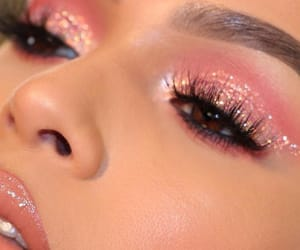 girl, glam, and pink image