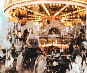 christmas, snow, and enjoy life image
