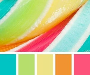bright colors, color palette, and colorful image