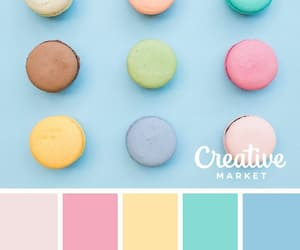 aesthetic, color palette, and colorful image