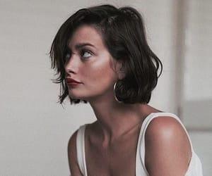 girl, short hair, and beauty image