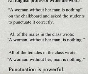 female, punctuation, and male image