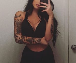 tattoo, girl, and aesthetic image
