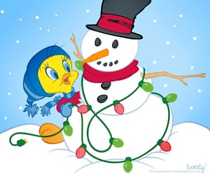 looney tunes, merry christmas, and navidad image