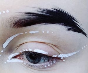 art, makeup, and aesthetic image