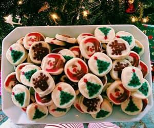 christmas, Cookies, and holiday image