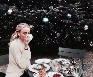 christmas, food, and girl image