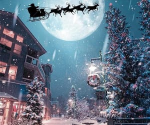 christmas, december, and dreamy image