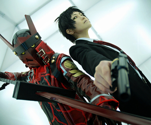 cosplay, persona 4, and adachi image