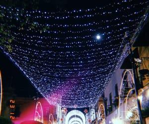 christmas, magic, and sky image