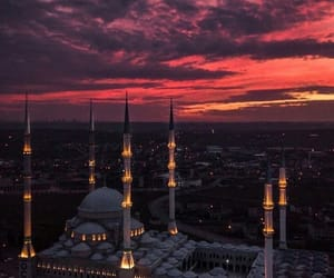 beautiful, islamic, and mosque image