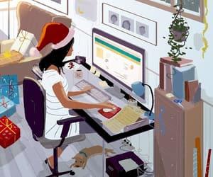 ilustracion, ilustraciones, and trabajo image